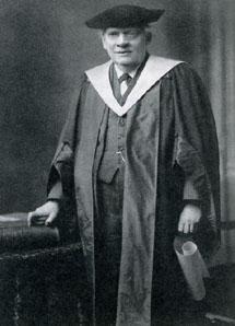 Dr. h.c. Julius Röntgen, Edinburgh, 27 maart 1930