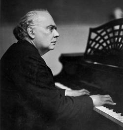 Julius Röntgen als pianist