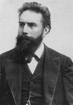 Wilhelm Conrad Röntgen  (1845 - 1923)